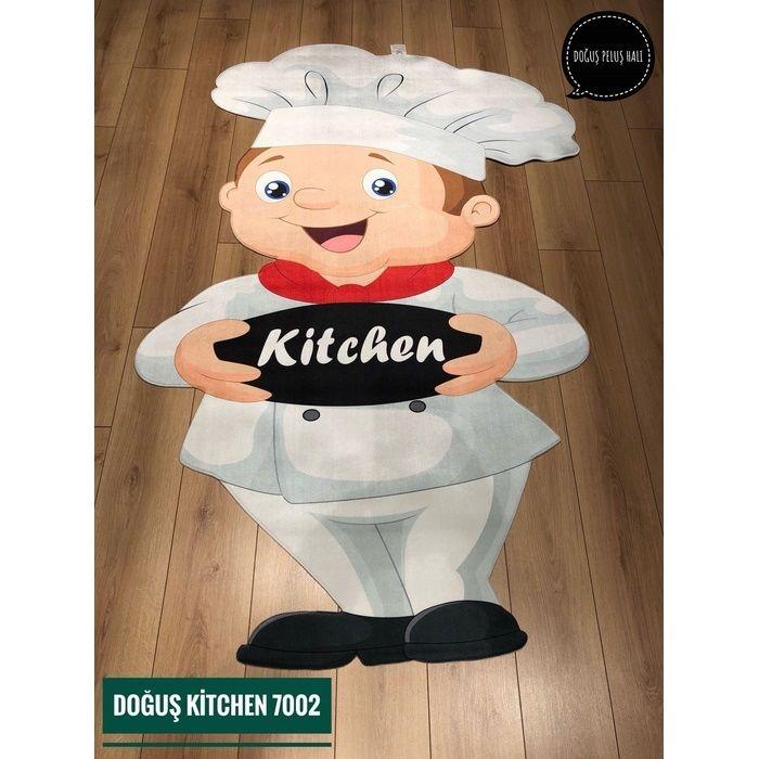Resim  Doğuş Kitchen 7002 Mutfak Halısı - 140x200 cm
