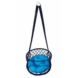 Altınoluk Çocuk 50 'Lik Davul Salıncak Lacivert ( Mavi Minderli )