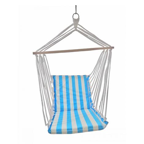 Resim  Altınoluk Sandalye Salıncak - Mavi Beyaz