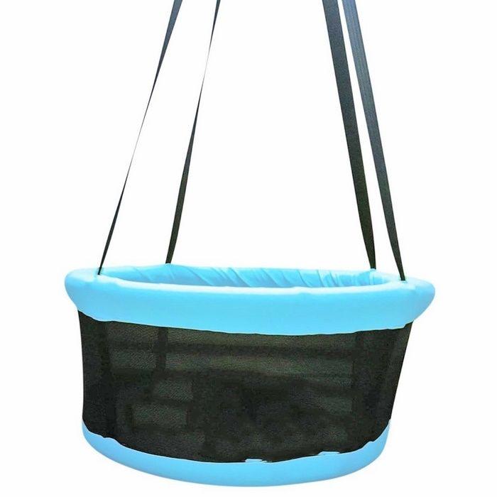 Resim  Altınoluk Sepet Salıncak ( Mavi )