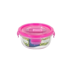 Luminarc Pure Box Yuvarlak Saklama Kabı (Pembe) - 42 ml