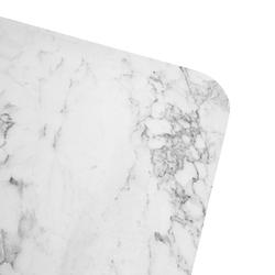 Akın Lüx Modern Tel Ayaklı Masa - Beyaz