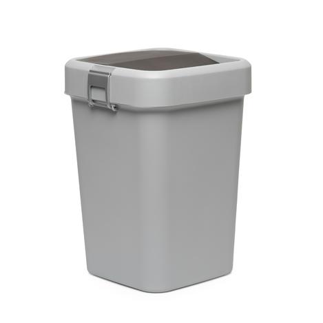 Motek Comfort Dust Bin Çöp Kovası (Gri) - 18 lt
