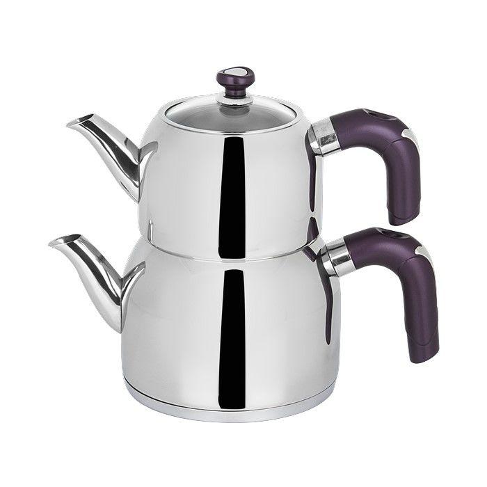 Aryıldız Perge Purple Çaydanlık
