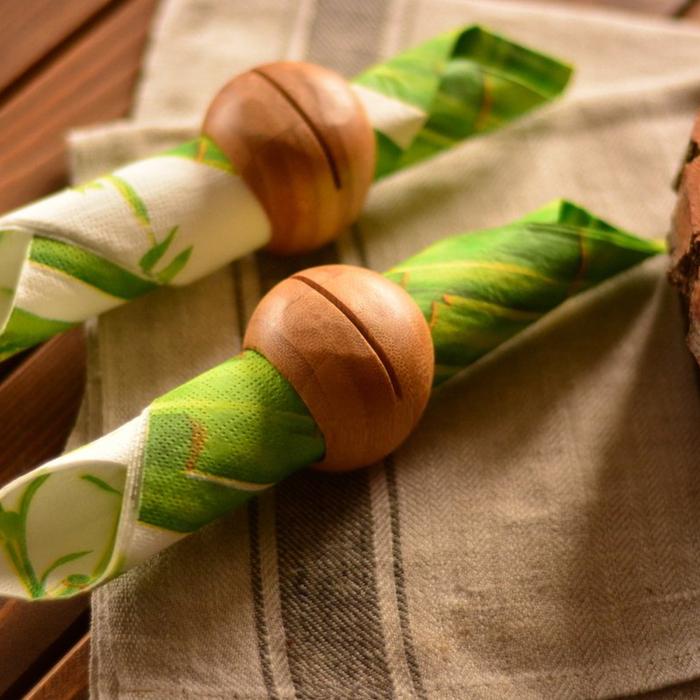 Bambum Dixon 2'li Peçete Halkası