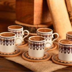 Bambum Menengiç 12 Parça Kahve Fincan Seti