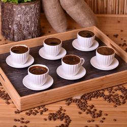 Bambum Narvari 12 Parça Kahve Fincan Seti