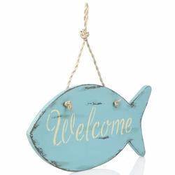 Orta Sofa Balık Welcome Kapı Süsü