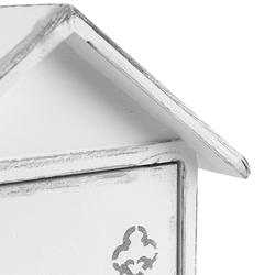 Orta Sofa Beyaz Ev Anahtar Kutusu