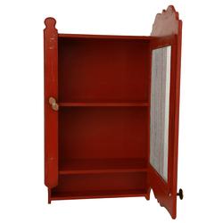 Orta Sofa Eskitme Tel Kapaklı Terek - Kırmızı