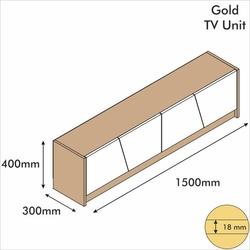 Minar Gold Tv Ünitesi - Çırağan