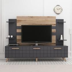 House Line Grace Tv Ünitesi - Tv Sehpası - Antrasit/Çırağan