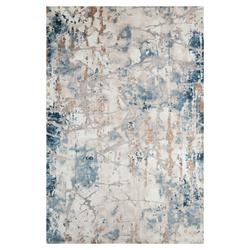 Bahariye Craft Makine Halısı (Mavi/Gri) - 150x230 cm