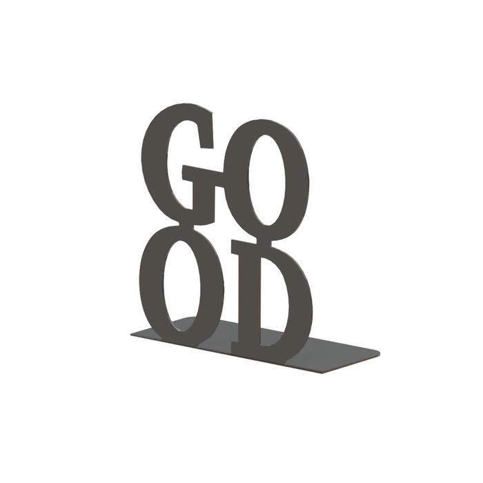 M&C Concept Good Metal Kitap Desteği   - Siyah