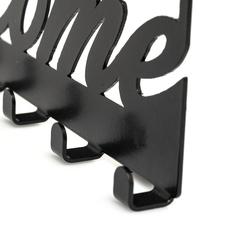 M&C Concept Welcome Metal Duvar Anahtarlık   - Siyah