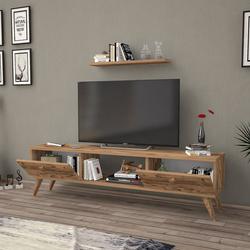 Just Home Terra 140 Cm Tv Ünitesi - Atlantik Çam