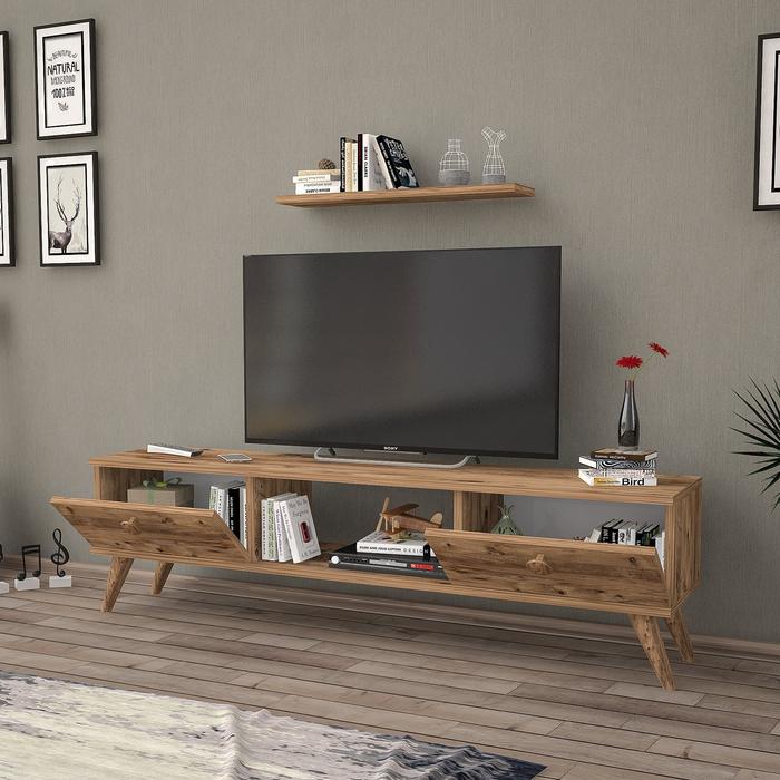 Just Home Terra 180 Cm Tv Ünitesi - Atlantik Çam