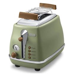 Delonghi CTOV 2103.GR Icona Vintage Ekmek Kızartma Makinesi - Yeşil / 900 Watt