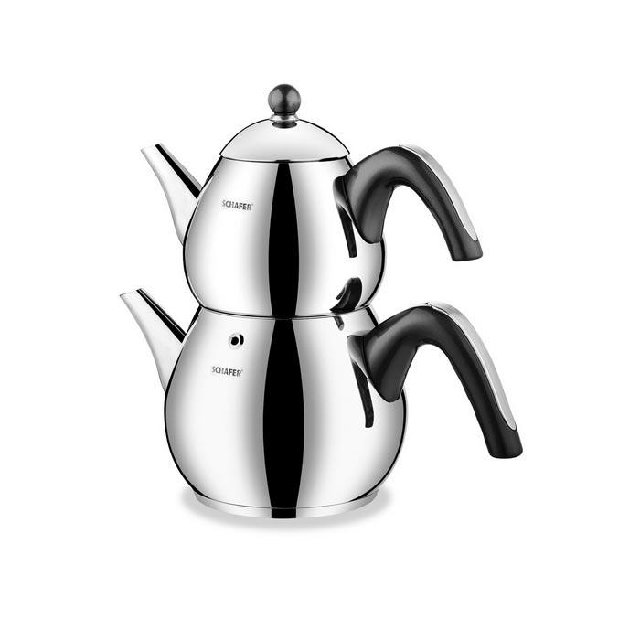 Schafer SHF 7820 Tea Chef 4 Parça Orta Boy Çaydanlık Takımı