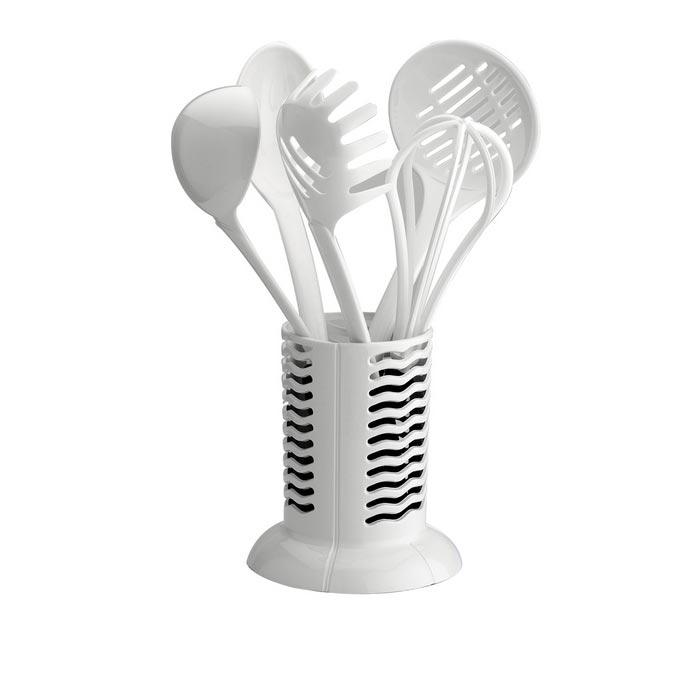 Schafer Mia Plastik Kepçe Takımı - Beyaz