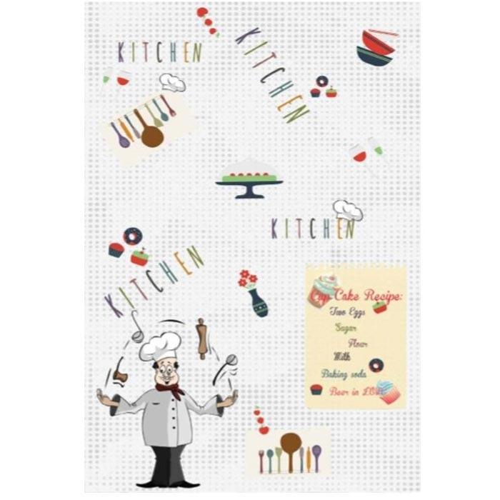 Resim  Brillant 101 Chef Mutfak Halısı - 130x200 cm