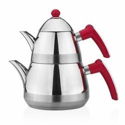 Taç Casablanca Çaydanlık - Kırmızı
