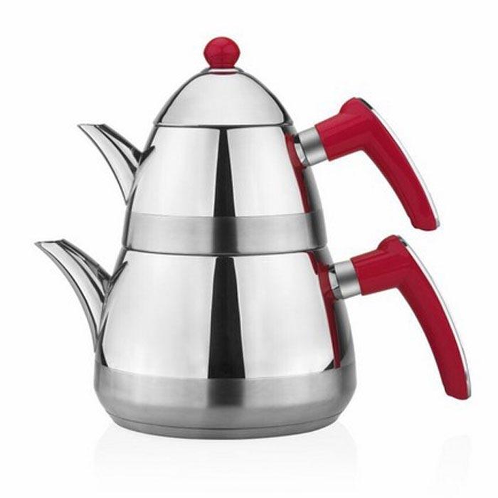 Resim  Taç Casablanca Çaydanlık - Kırmızı