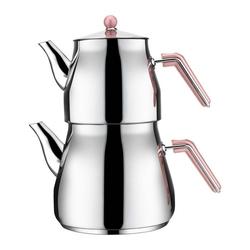 Aksu Mega Family Çaydanlık - Pembe