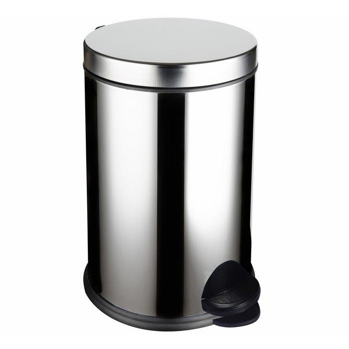 Resim  Cosiness Paslanmaz Pedallı Çöp Kovası - 8 Litre