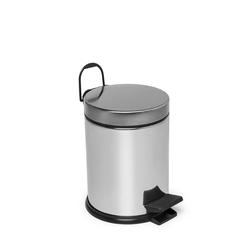 Çelik Banyo Mikro Pedallı Çöp Kovası - 3 lt