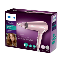 Philips BHD 290/00 DryCare Advanced Saç Kurutma Makinesi - Pembe / 2300 Watt