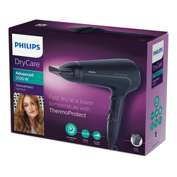Philips HP 8230/00 DryCare Advanced Saç Kurutma Makinesi - Siyah / 2100 Watt
