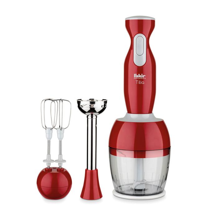 Fakir Tilia Blender Seti - Kırmızı / 1000 Watt