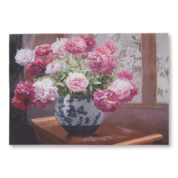 Q-Art Çiçek Kanvas Tablo