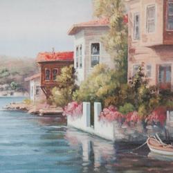 Q-Art İstanbul Kanvas Tablo