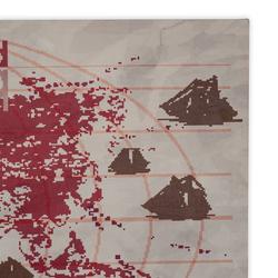 Özverler HRT-2062 Harita-1 Kanvas Tablo