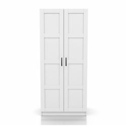 DSM Dizayn MNT101B 2 Kapaklı Gardırop - Beyaz