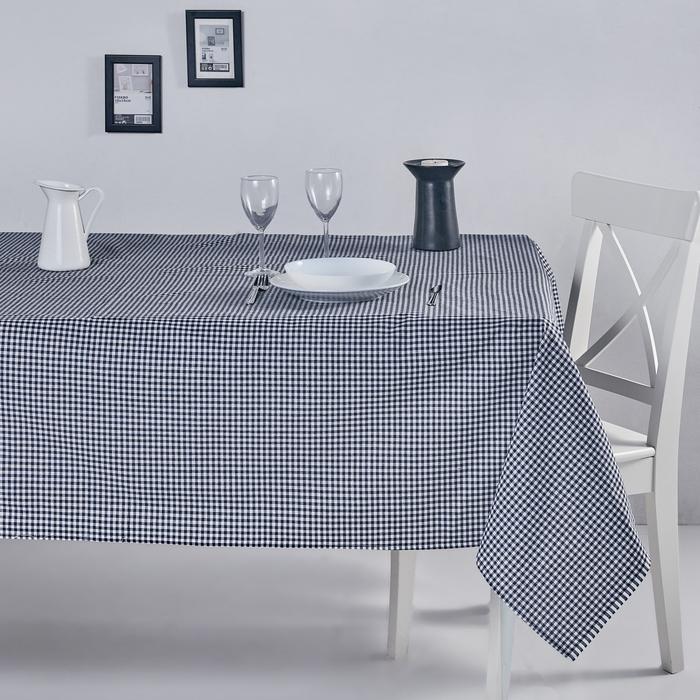 DC Home Pötikareli Masa Örtüsü (Siyah) - 170x220 cm