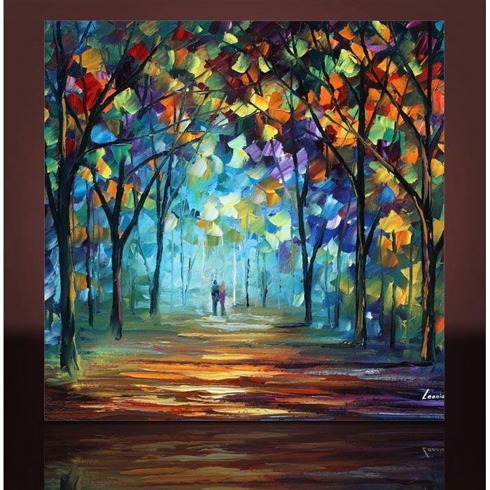 Resim  Arte AT10503 Kanvas Tablo - 70x70 cm