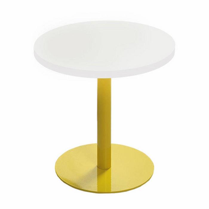 Resim  Boo Tavolino Metal Ayaklı Yan Sehpa - Sarı