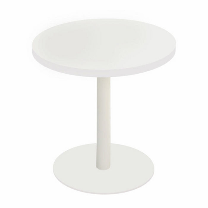 Resim  Boo Tavolino Metal Ayaklı Yan Sehpa - Beyaz