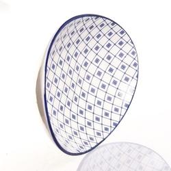 Arow 06 Desenli Oval Kayık Tabak