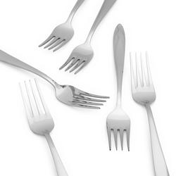 Erdem Elmas 6'lı Yemek Çatalı