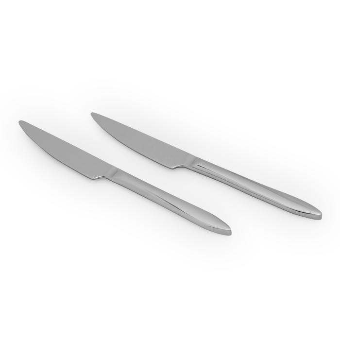 Resim  Erdem Malta 18/10 2'li Blister Yemek Bıçağı