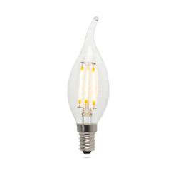 Heka Kıvrık Uç 6 Watt E14 Tipi 407Lm 2700K Gün Işığı Led  Ampul