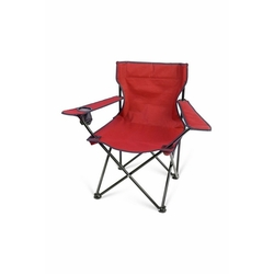 Simple Living Katlanır Kamp ve Plaj Sandalyesi - Kırmızı