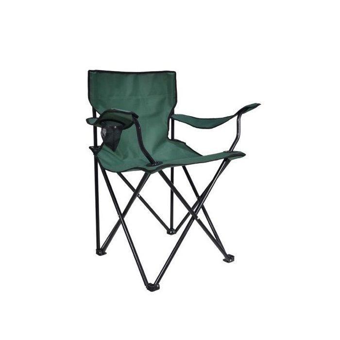 Resim  Simple Living Katlanır Kamp ve Plaj Sandalyesi - Yeşil