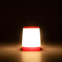Petrix Ledli Kamp Lambası- Pembe