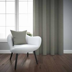 Else Gri Düz Renk Dekoratif Modern Fon Perde Kırlent Hediyeli -150Cmx270Cm