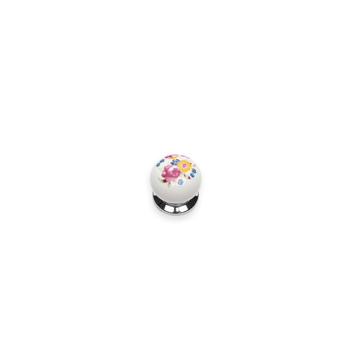Esal Yıldız Düğme D36A Krom Kulp